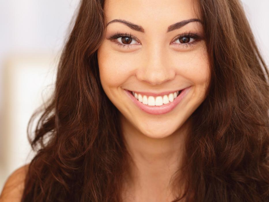 woman smiling | cosmetic dentistry sarasota fl