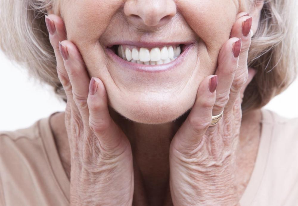 dental patient smiling | sarasota fl