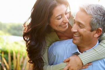 Couple hugging | Sarasota FL Dentist